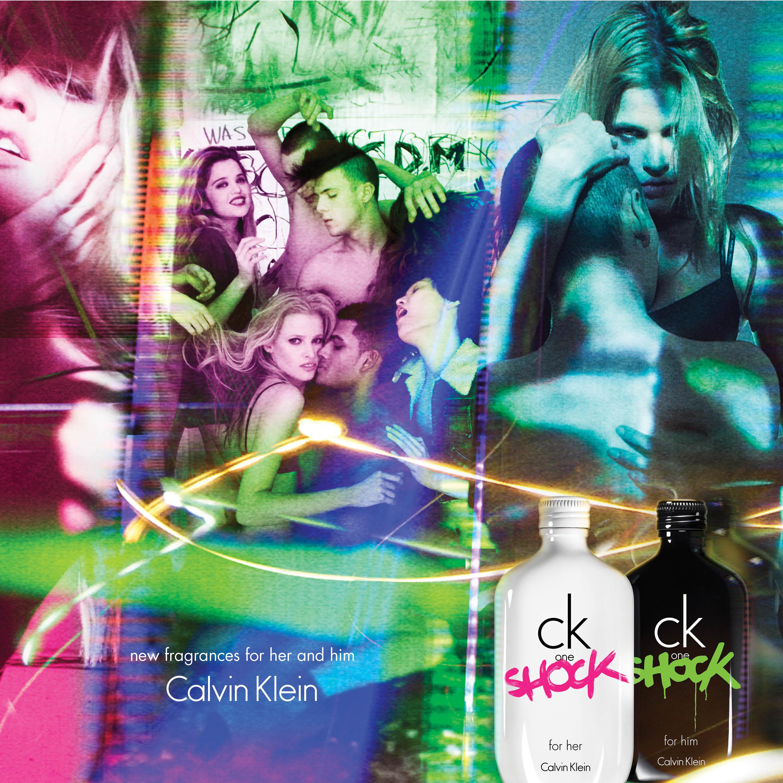 By Klein Parfum UbisignAgence Lancement Du Ck One Calvin Shock rdhQxsCt