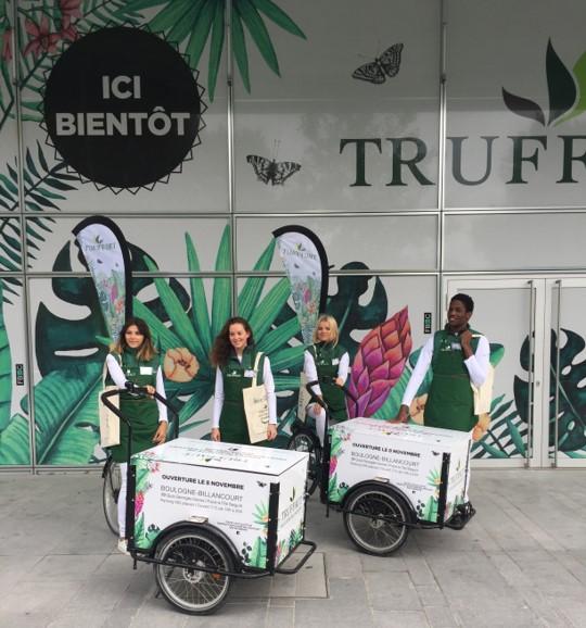 Une opération de séduction pour annoncer l'ouverture d'un magasin Truffaut !