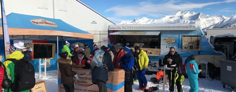 Foodtruck richesmonts stations de ski