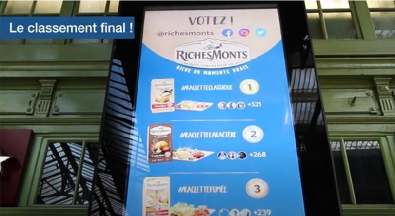 richesmonts event national affichage SOOH gare de lyon paris classement final